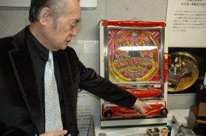 Dr. Nakamats and his pachinko machine