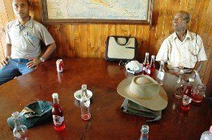 The bar at Vanimo's Sandaun Motel
