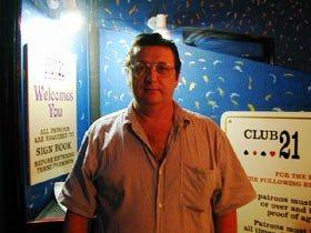 Allan Palmer at Club 21