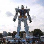 Gundam on Odaiba