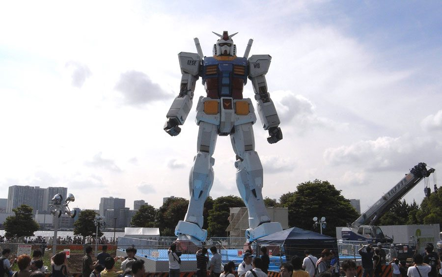 Gundam on Odaiba