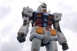 Green Tokyo Gundam Project on Odaiba