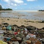 Garbage on Red Beach