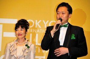 Tokyo International Film Festival (Photo by Adam McCann, October 17, 2009)