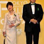 Hatoyama attends Tokyo International Film Festival opener