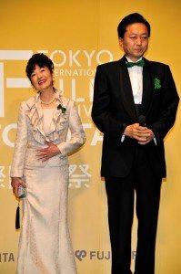 Japan's Prime Minister Yukio Hatoyama and his wife Miyuki