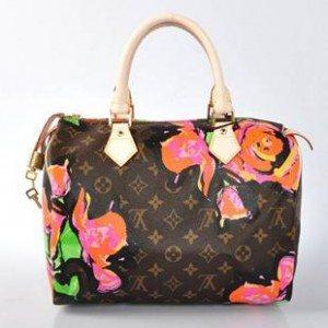An imitation Louis Vuitton bag