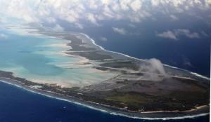 Tarawa from above