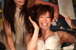 AV actress Nanako Mori at the 'Mature Queen Contest'