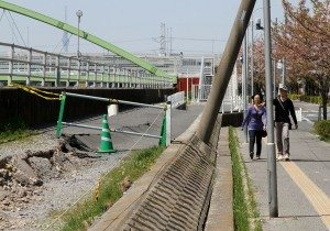 Effects of soil liquefaction in Urayasu, Chiba Prefecture following Great East Japan Earthquake