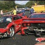 8 Ferrari sports cars wrecked in $4 million luxury pileup in Japan
