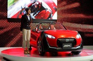 Daihatsu's D-X at the Tokyo Motor Show 2011