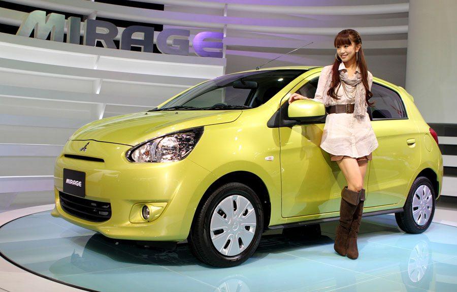 Mitsubishi's Mirage at the Tokyo Motor Show 2011