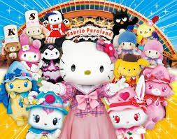 Sanrio Puroland features Hello Kitty