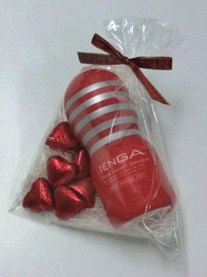 Happy Valentine's Day from Tenga