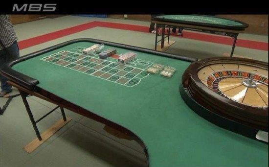 Osaka roulette gambling hall busted, 6 arrested