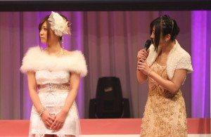 Haruki Sato (left)