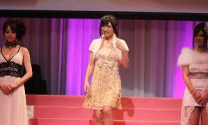 Hibiki Otsuki on stage