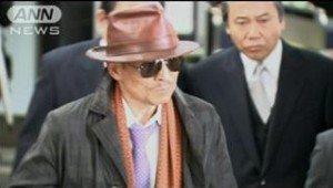 Shinobu Tsukasa, the boss of the Yamaguchi-gumi, Japan's largest gang