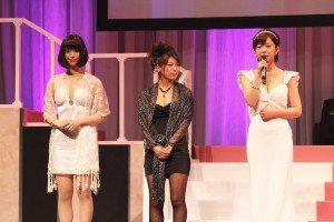 Mana Sakura (right) and other nominees