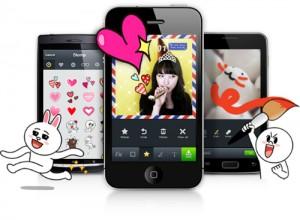 Smartphone app LINE
