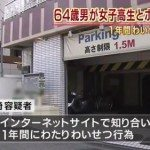 Tochigi man busted for SM romps with school girl in Saitama