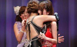 2013 Best Actress Haruki Sato (left) and Yui Hatano (right)