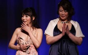 Kimika Ichijo (left)