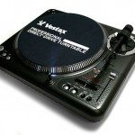 A Vestax turntable