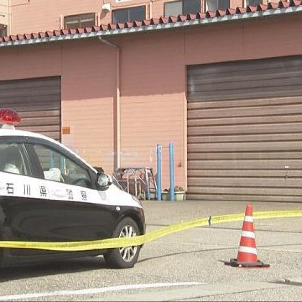 The body of Ryu Minakami was found inside a factory building in Hakusan City