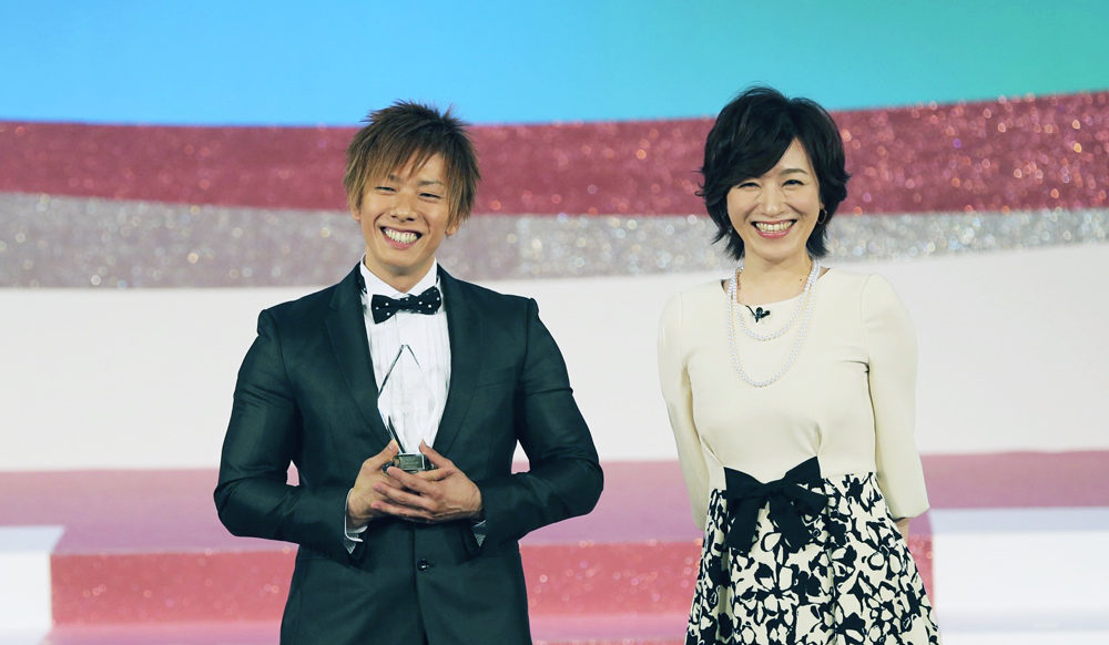 Shimiken wins the Best Actor prize