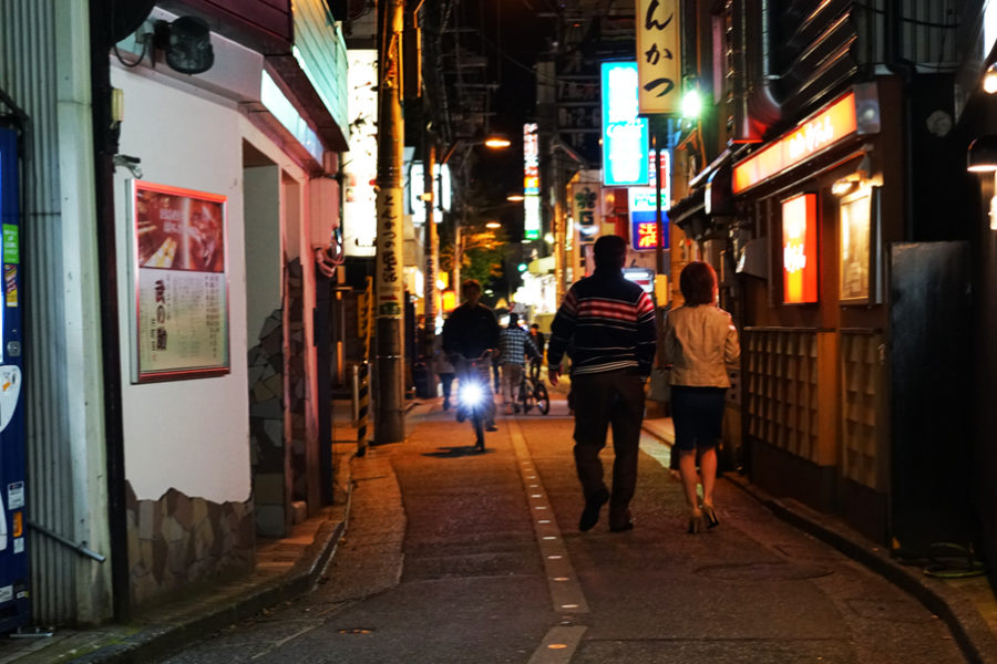 A back street of Katamachi