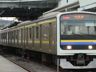 A Chiba police officer has been accused of exposing himself inside a carriage of the Uchibo Line