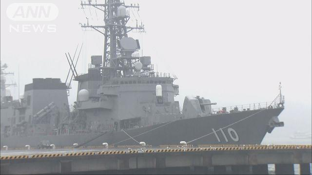 A senior MSDF officer was found collapsed aboard a destroyer with a self-inflicted gunshot wound