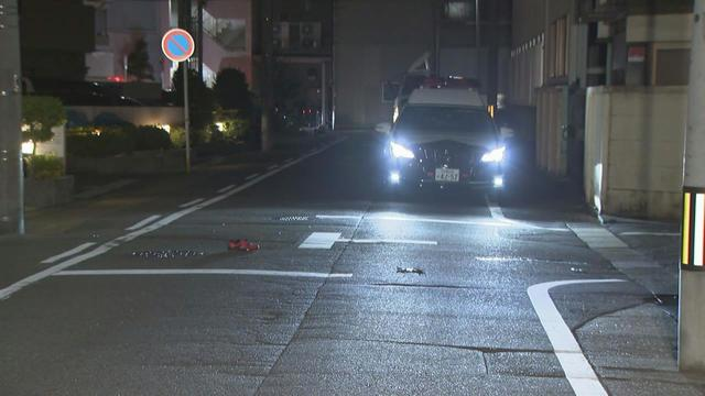 Two persons were stabbed on a road in Nagoya on Monday
