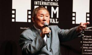 Takeshi Kitano at TIFF
