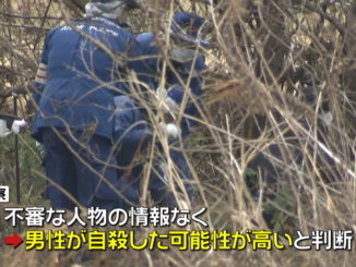 The body of a 58-year-old man was found along a river in Obu City last week