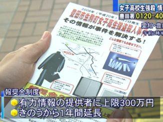 Aichi police in Toyota City