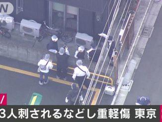 Tokyo police apprehended a man in Kita Ward