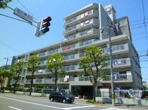 The Asahi Plaza Miyanomori apartment complex