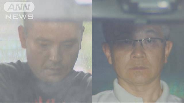 Atsushi Hashimoto (left) and Koji Suzuki