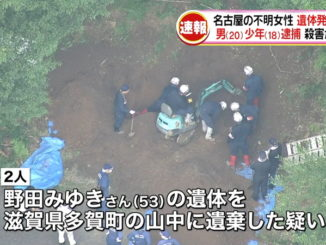 Two persons in custody in the dumping of the body of a woman in Shiga Prefecture obtained her bitcoin