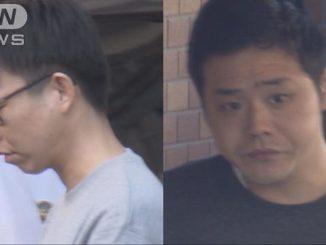 Masashi Maeda (left) and Ryohei Hashimoto