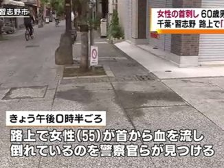 A 60-year-old man was arrested for allegedly stabbing his sister-in-law in Narashino City on Sunday