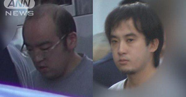 Naoto Okamoto (left) and Yuki Kashiwagi
