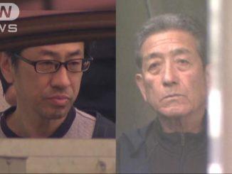 Masakazu Shibata (left) and Takeshi Iijima