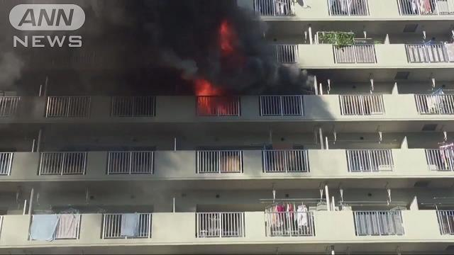 Tokyo police arrested a man after a fire erupted inside his residence in Edogawa Ward