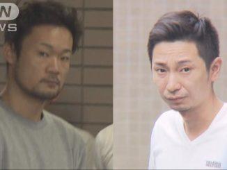 Katsunobu Hoshino (right)