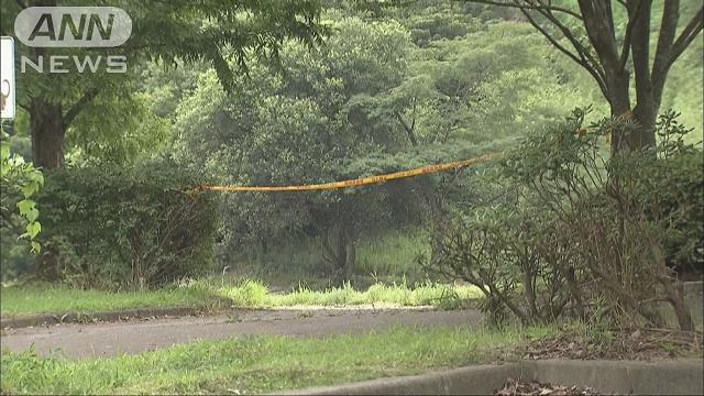 The bodies of four persons, including 2 children, were found at a park on Sunday