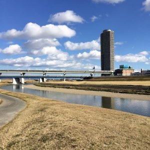 A male corpse was found in the Shonai River on Sunday